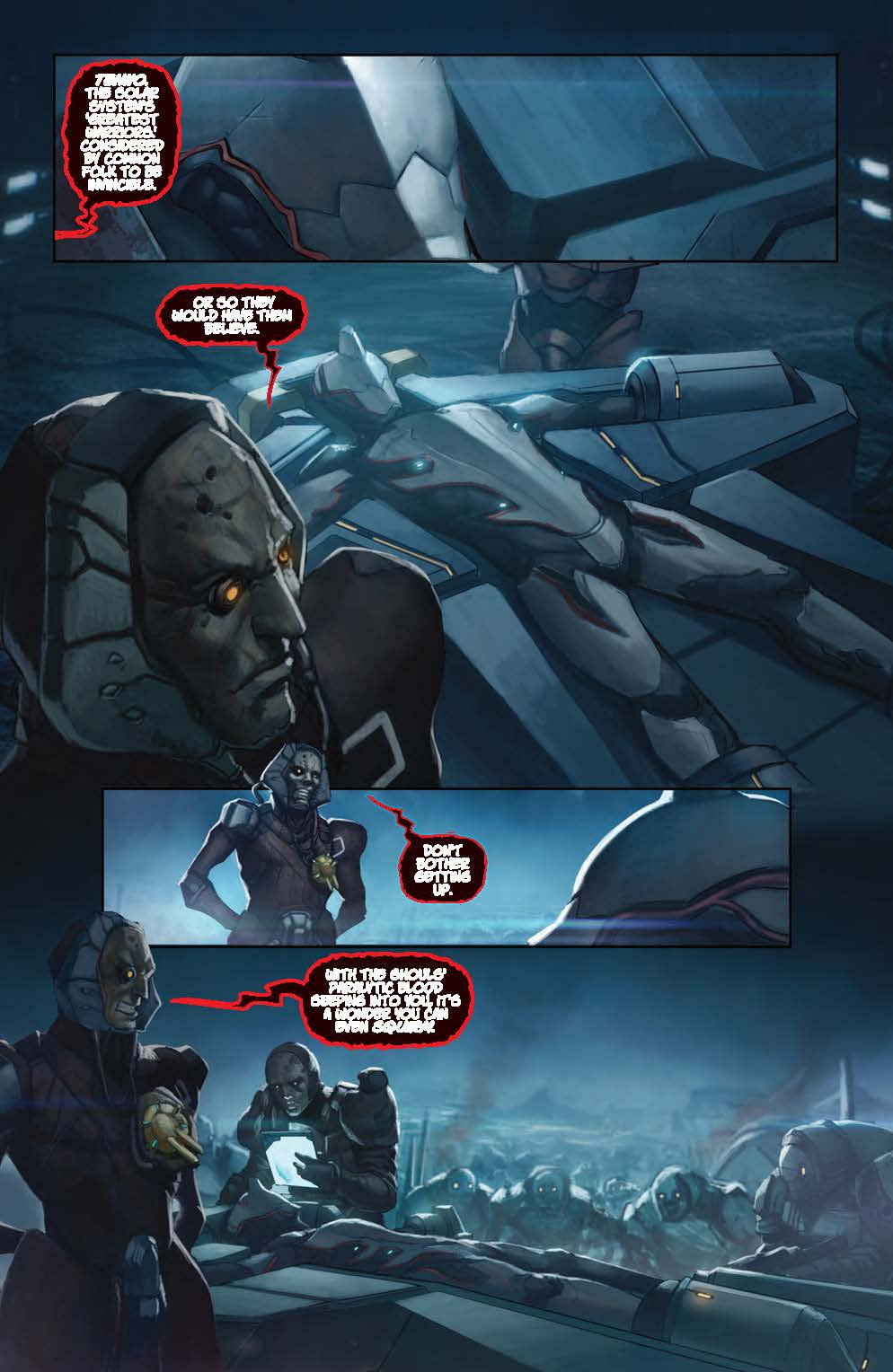 Comic Preview Warframe 2 Retrenders