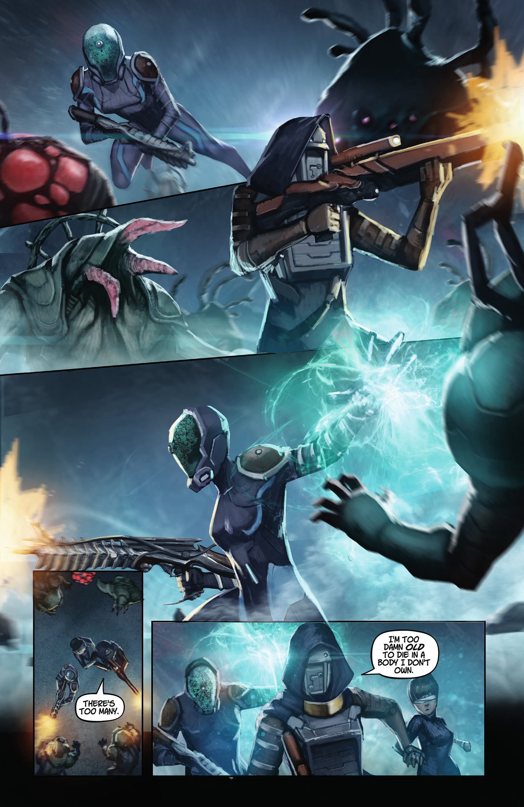Comic Preview Warframe 4 Retrenders